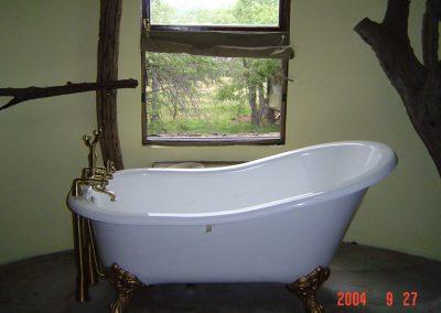 BATH ROOM AT MIGRATION TENTED CAMP, SERENGETI