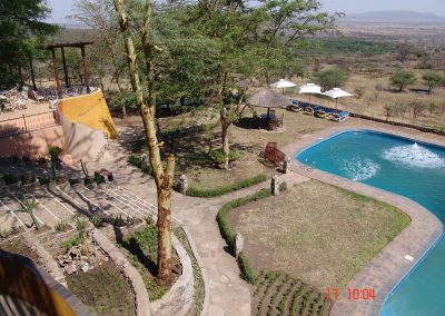AERIAL VIEW AT SOPA LODGE