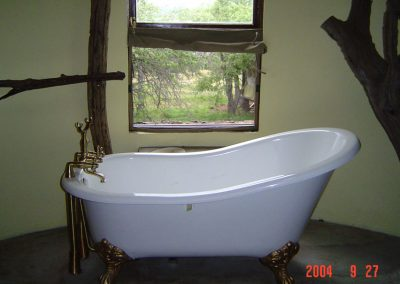 BATH ROOM AT MIGRATION TENTED CAMP, SERENGETI