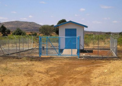 ONE OF NAMANGA BOREHOLE ELECTRICAL HOUSE